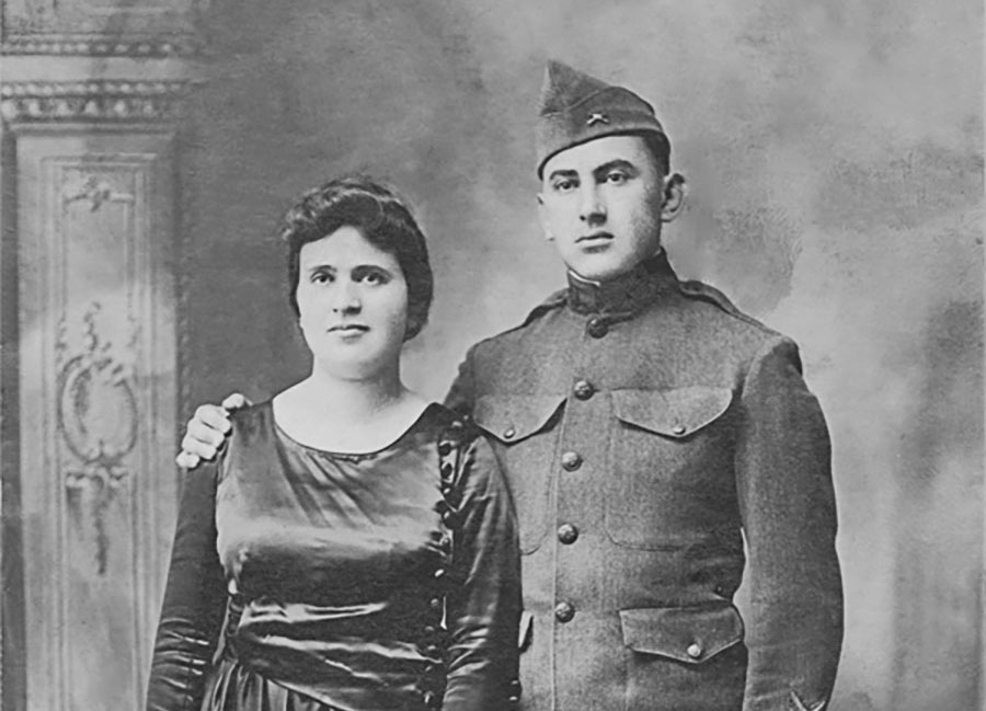 WWI Soldier and Wife